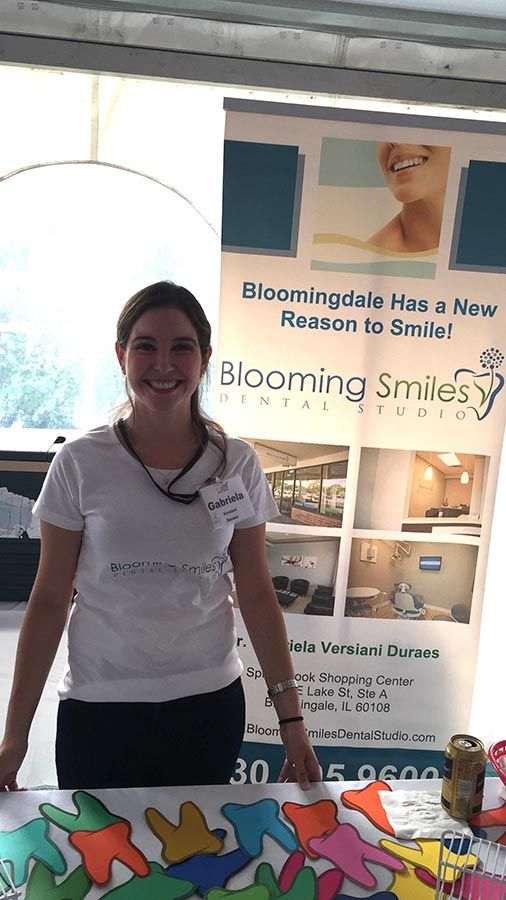 Blooming Smiles Dental Studio Community Service Bloomingdale IL